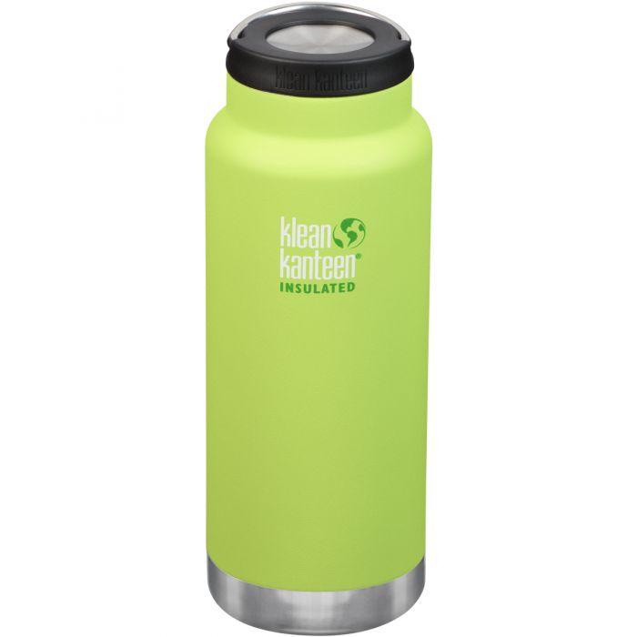 Klean Kanteen TKWide 946ml Insulated Bottle Loop Cap Juicy Pear