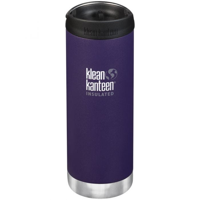 Klean Kanteen TKWide 473ml Insulated Bottle Cafe Cap Kalamata