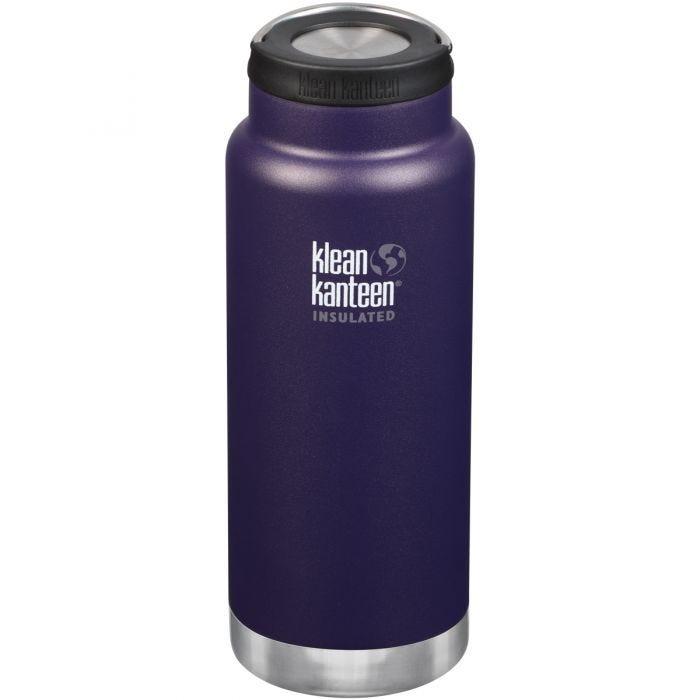 Klean Kanteen TKWide 946ml Insulated Bottle Loop Cap Kalamata