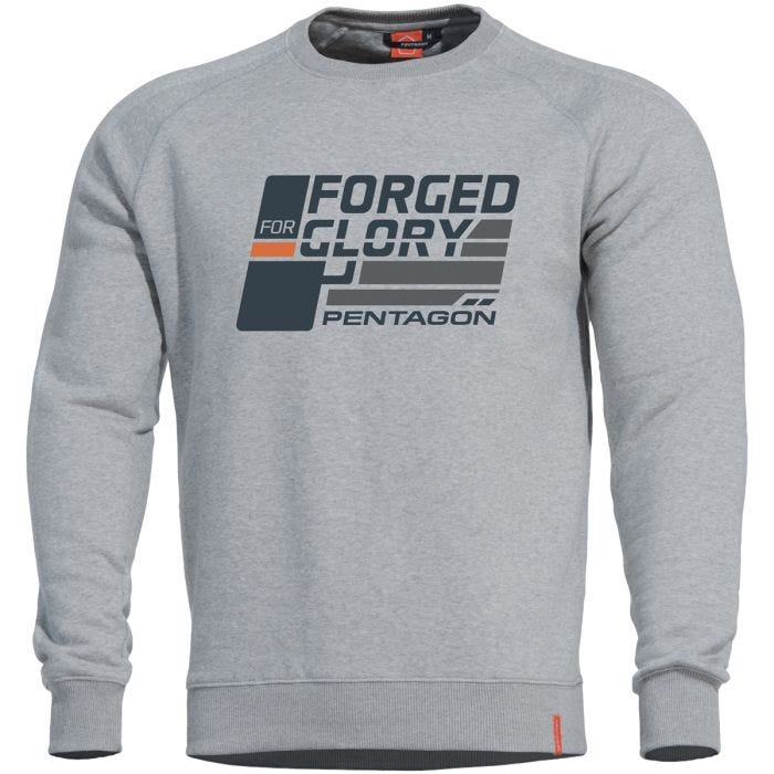 Pentagon Hawk Sweater Forged for Glory Melange
