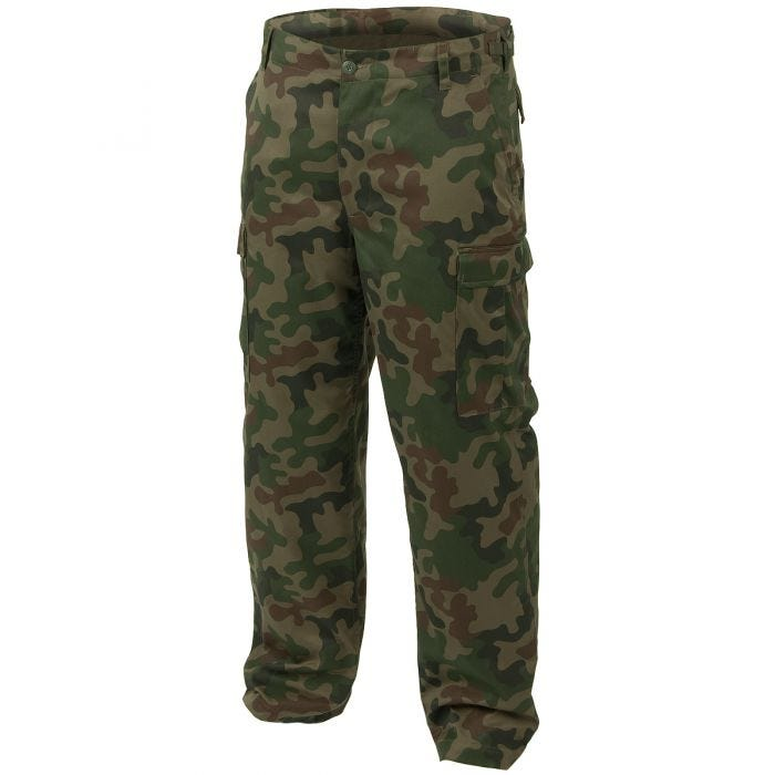 Mil-Tec BDU Ranger Combat Trousers Polish Woodland