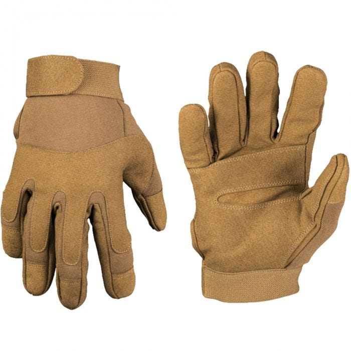 Mil-Tec Army Gloves Dark Coyote