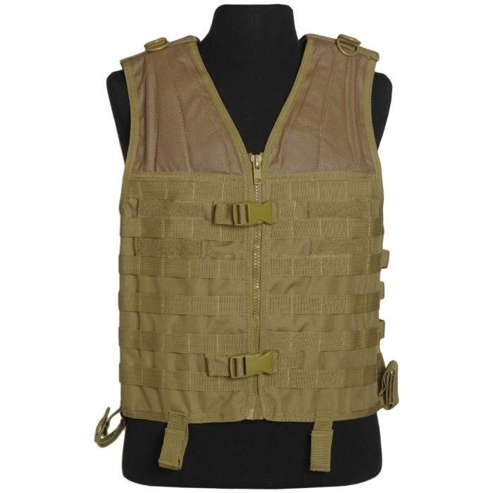 Mil-Tec MOLLE Carrier Vest Coyote