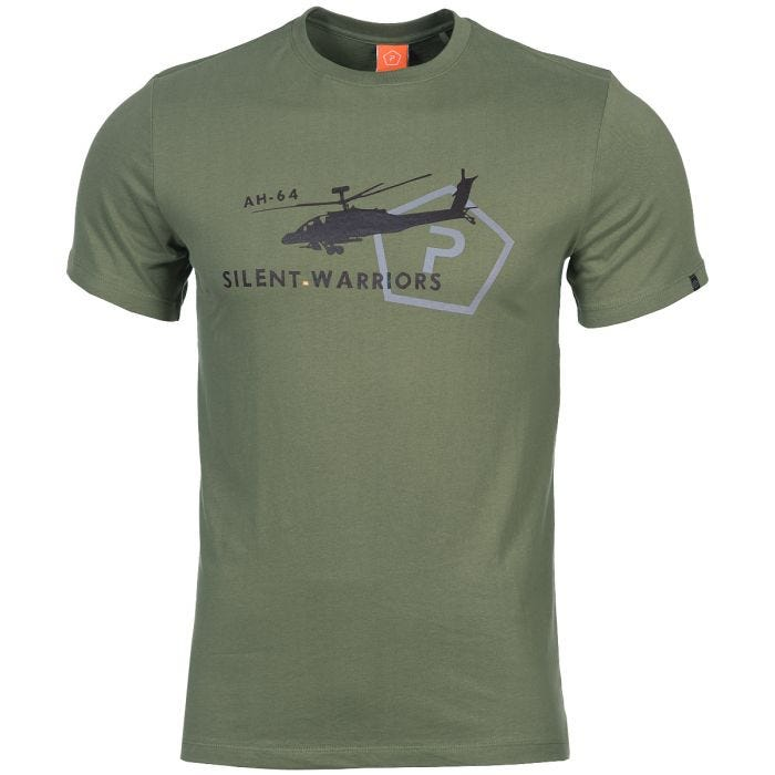 Pentagon Ageron Helicopter T-Shirt Olive