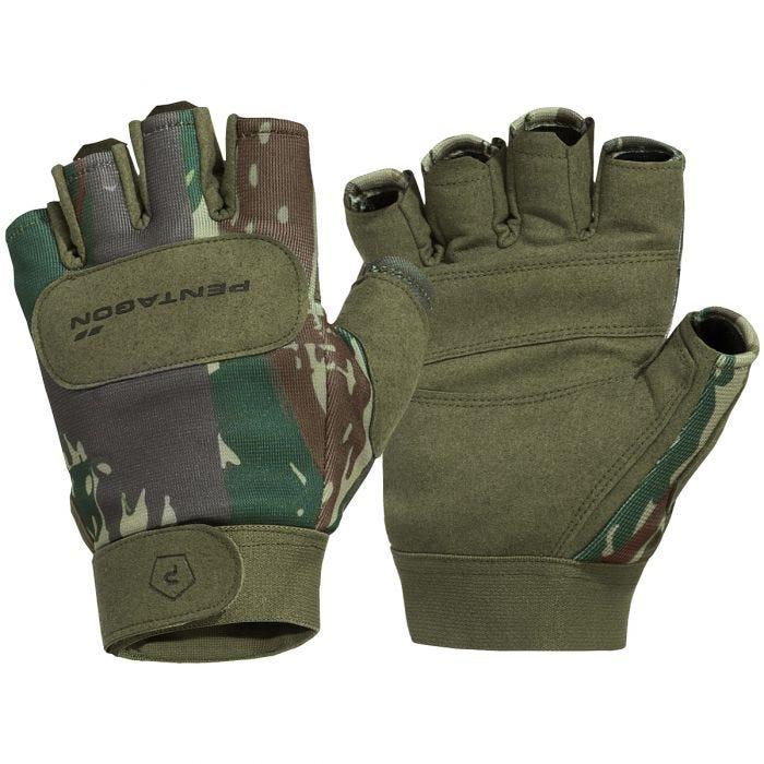 Pentagon 1/2 Duty Mechanic Gloves Greek Lizard