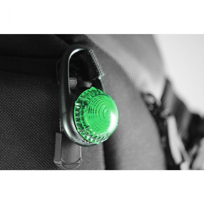 Adventure Lights Guardian Tag-It Clip-On Light Green