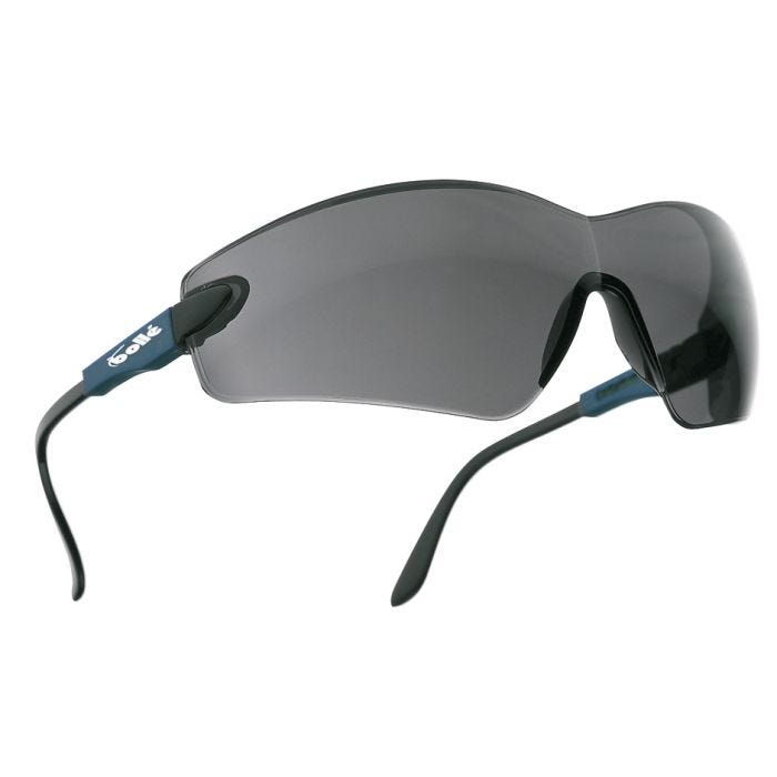 Bolle Viper II Glasses - Smoke Lens / Electric Blue Frame
