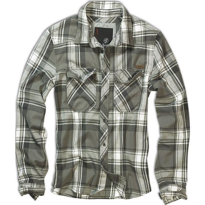Brandit Check Shirt Olive
