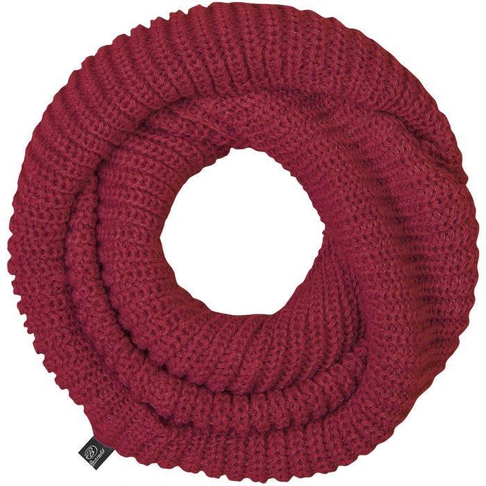 Brandit Scarf Loop Knitted Bordeaux