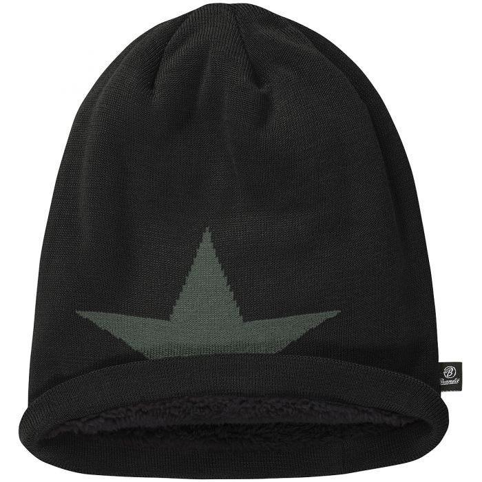 Brandit Beanie Star Cap Black