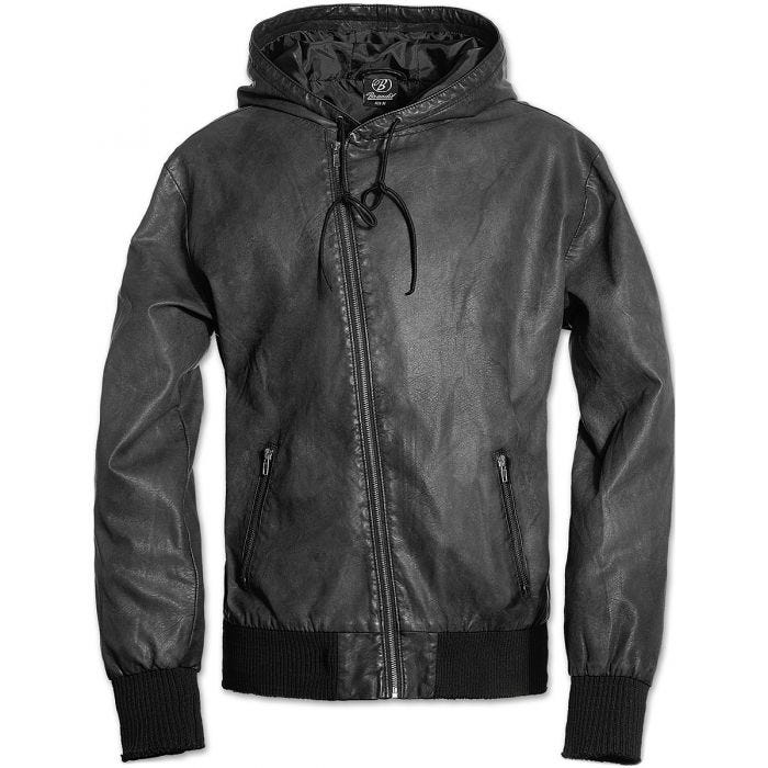 Brandit Dean Jacket Black