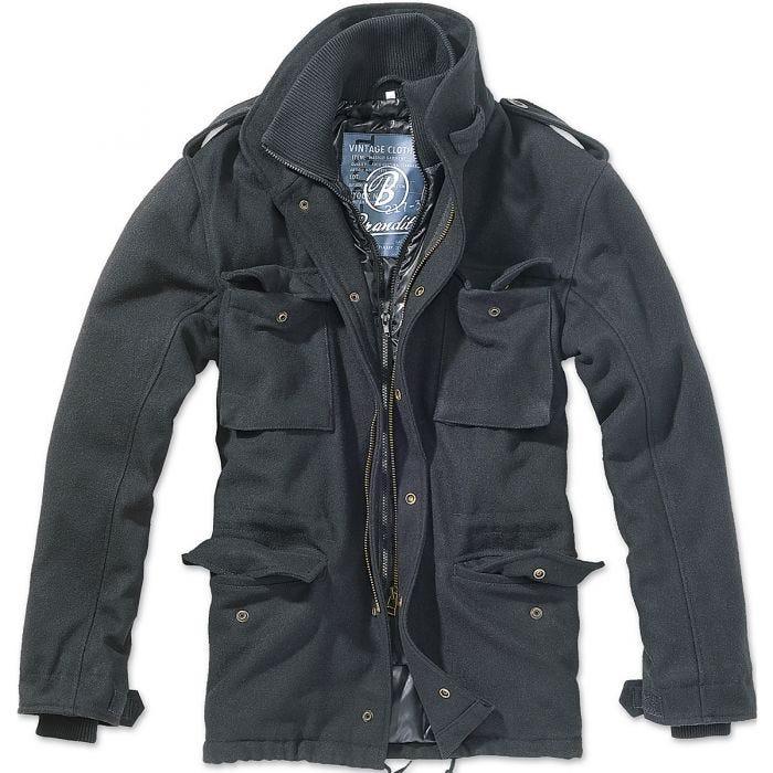 Brandit M-65 Voyager Wool Jacket Black