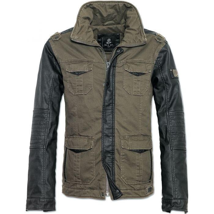Brandit Ray Vintage Jacket Olive / Black