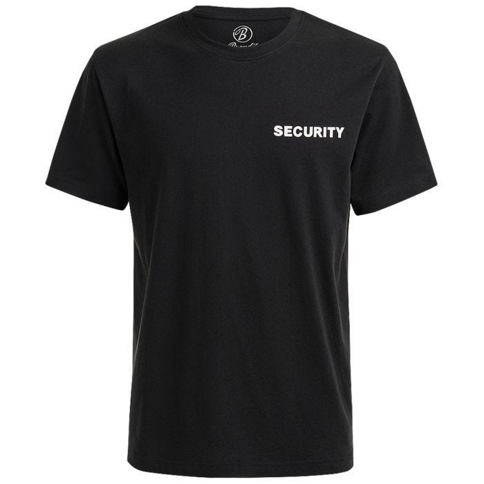 Brandit Security T-shirt Black