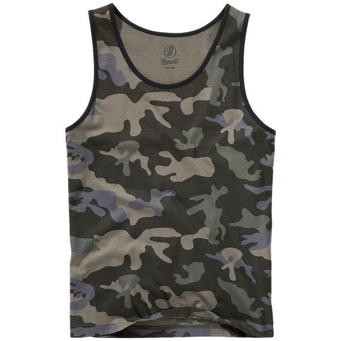 Brandit Tank Top Dark Camo