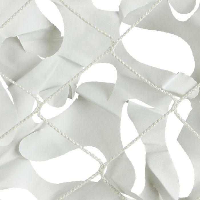 CamoSystems Shade Sail Net Broadleaf 4x4 White