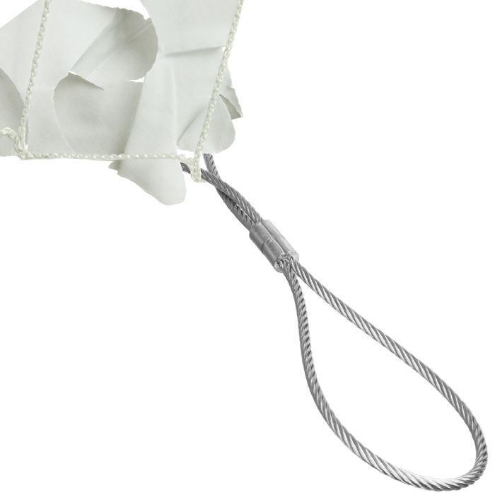 CamoSystems Shade Sail Net Broadleaf 3x3 White