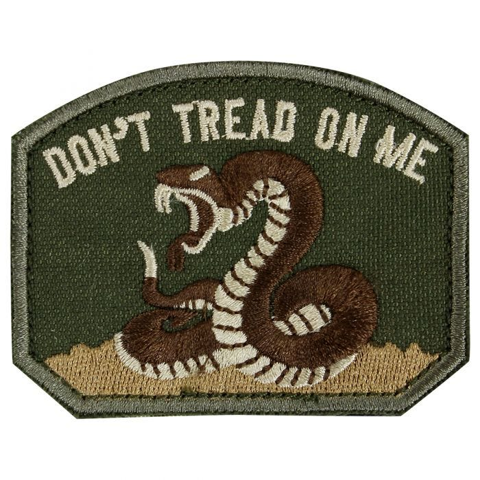 Condor Don't Tread On Me Patch Olive Drab
