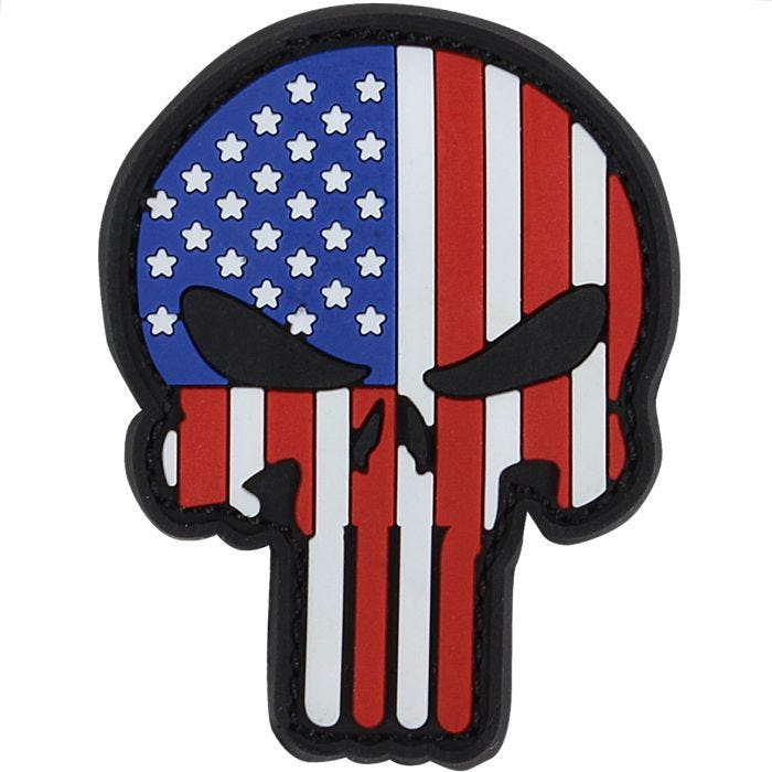 Condor Punisher PVC Patch RWB