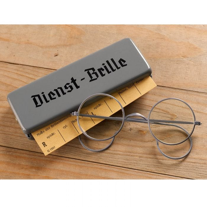 Mil-Tec Dienst-Brille with Metal Case