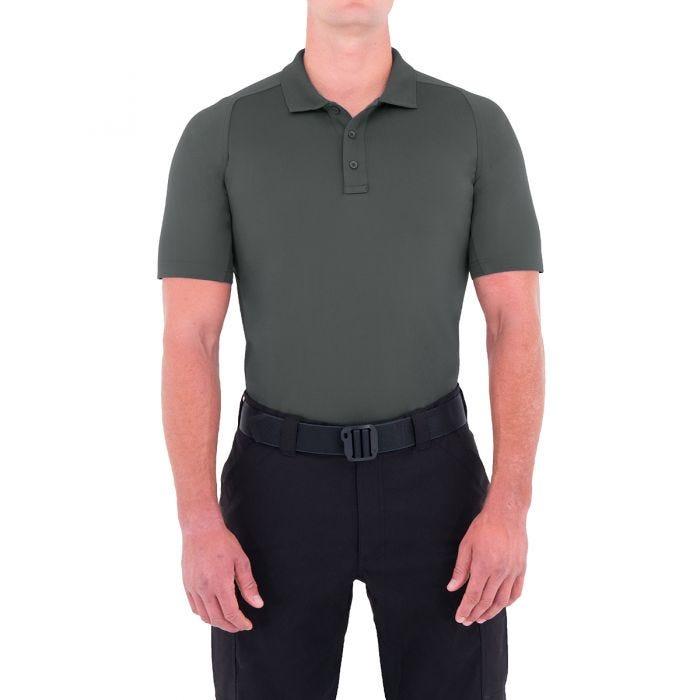 First Tactical Men's Performance Short Sleeve Polo Asphalt