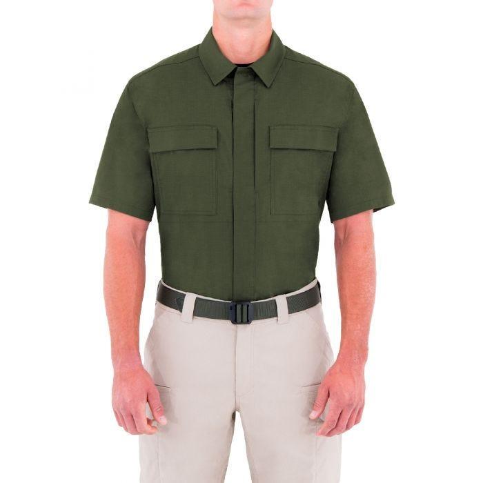 First Tactical Men's Specialist Short Sleeve BDU Shirt OD Green