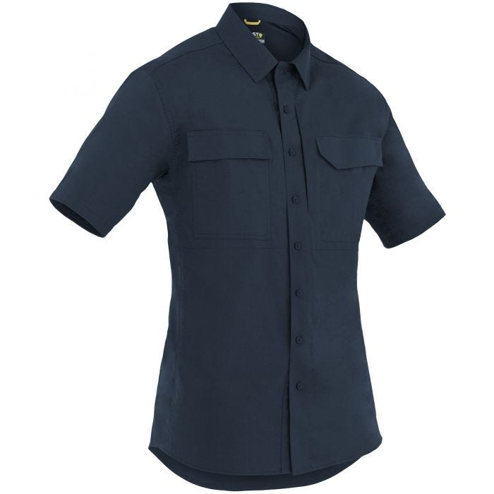 First Tactical Men's Specialist Short Sleeve Tactical Shirt Midnight Navy