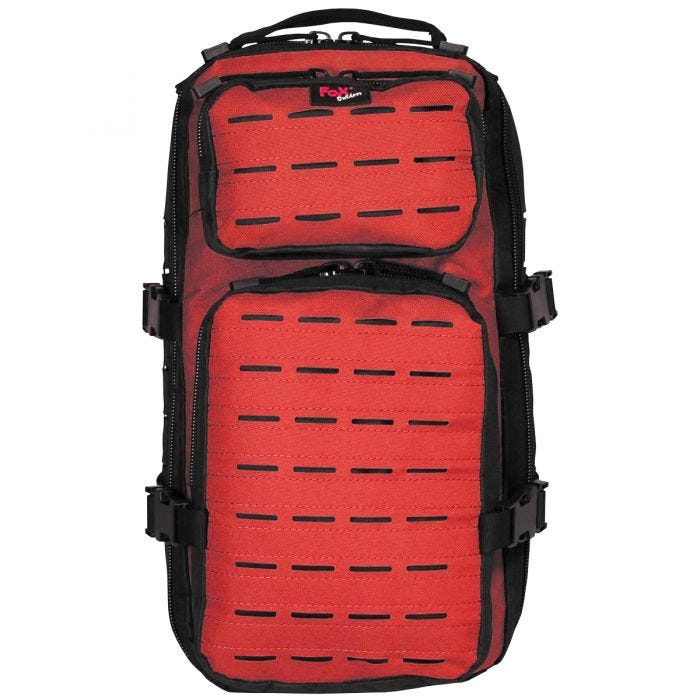 Fox Outdoor Assault-Travel Backpack Black / Red