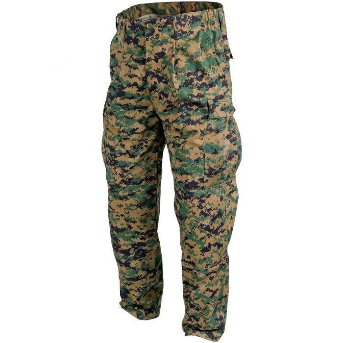 Helikon USMC Trousers Polycotton Twill Digital Woodland