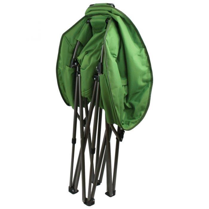 Highlander Deluxe Moon Chair Green