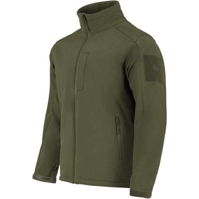 Highlander Odin Soft Shell Jacket Olive
