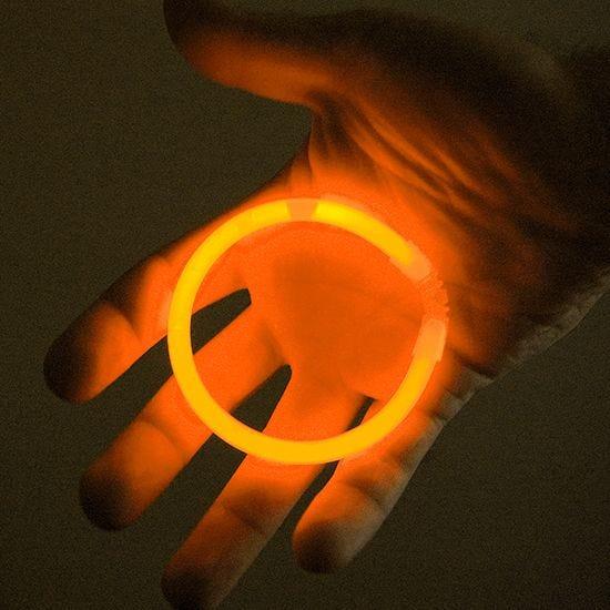 "Illumiglow 7.5"" Wrist Band Orange"