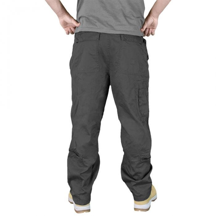 Surplus Infantry Cargo Trousers Black