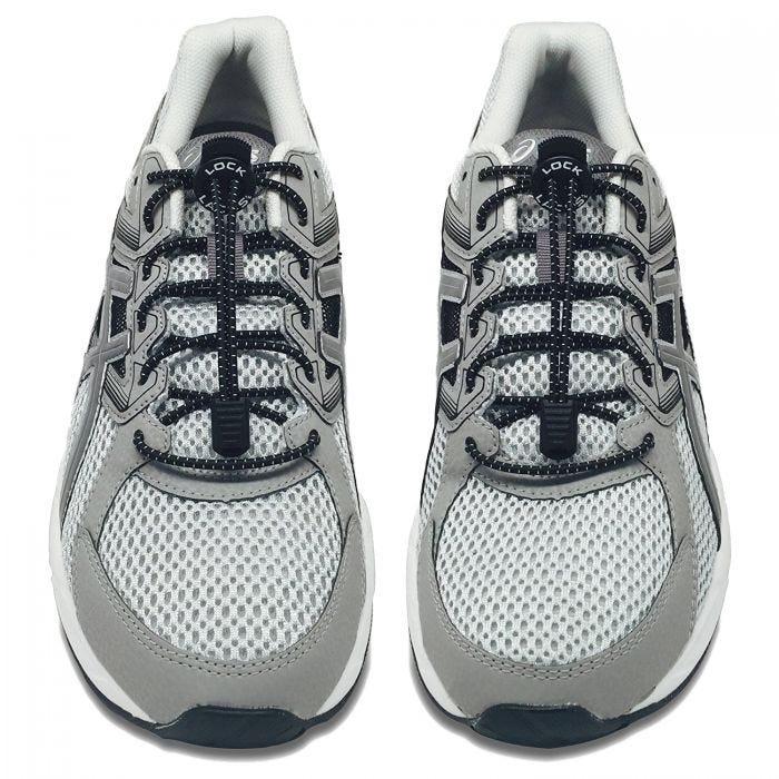 Lock Laces Elastic No Tie Shoelaces 2 Pack Black
