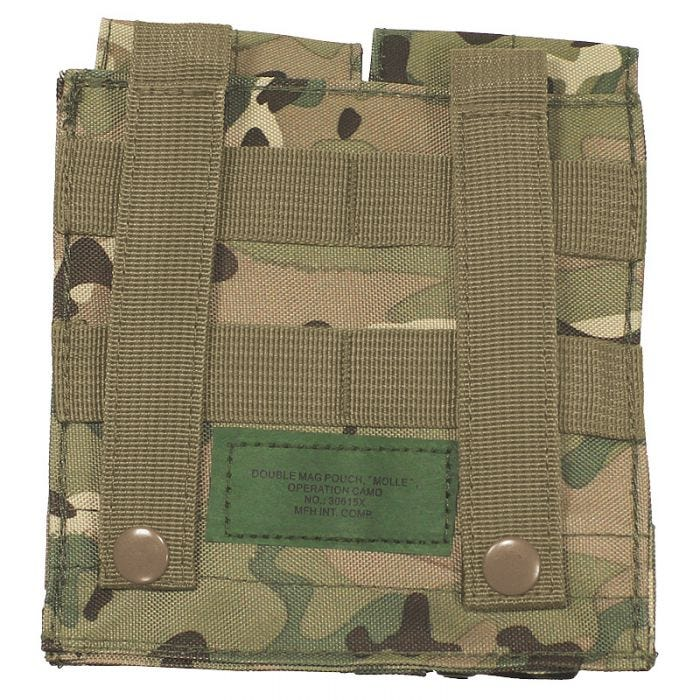 MFH Double M4/M16 Magazine Pouch Operation Camo