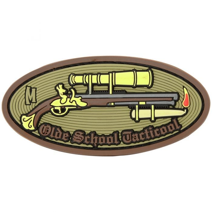Maxpedition Olde School Tacticool (Arid) Morale Patch