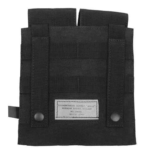 MFH Double M4/M16 Magazine Pouch MOLLE Black
