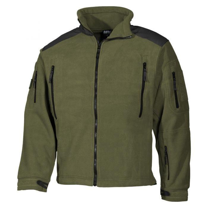 MFH Heavy Strike Fleece Jacket OD Green