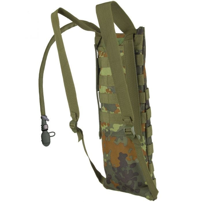 ae7e980dd21b MFH Hydration Bladder and Carrier MOLLE Flecktarn