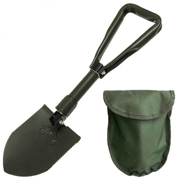 MFH Mini Folding Shovel with Cover