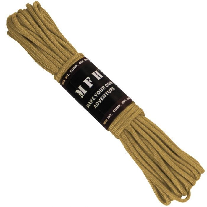 MFH Paracord 50ft Coyote