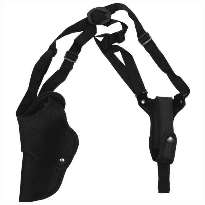 MFH Pistol Shoulder Holster Left Black