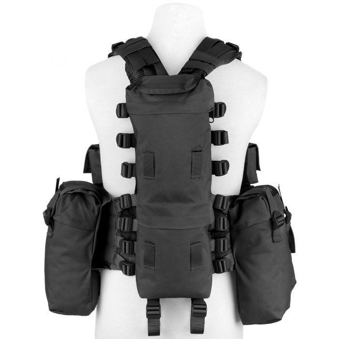 MFH South African Assault Vest Black