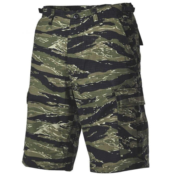 MFH US BDU Bermuda Shorts Ripstop Tiger Stripe
