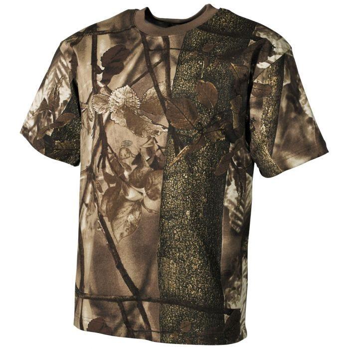 MFH Hunter T-shirt Hunter Brown
