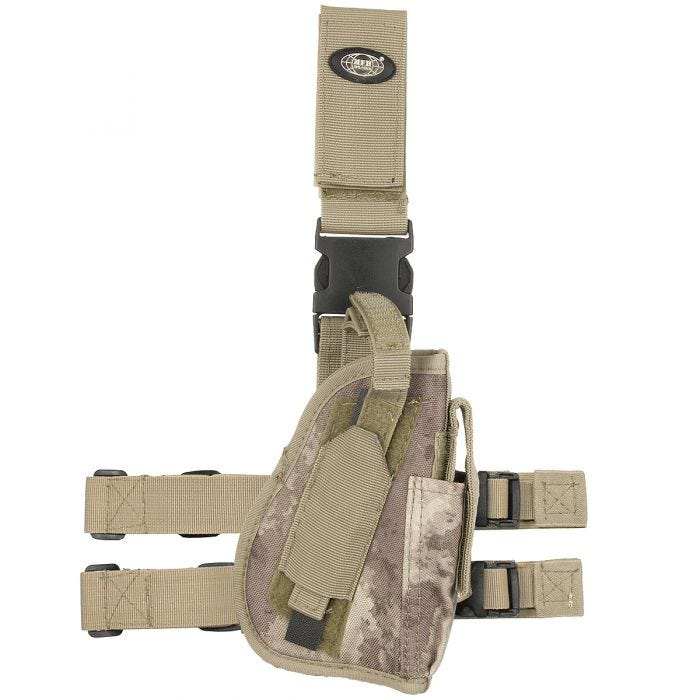 MFH Right Leg Holster HDT Camo AU