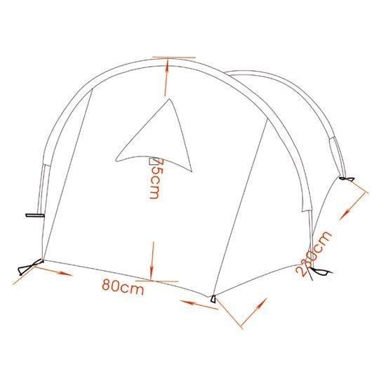 "MFH Tent ""Arber"" with Aluminium Frame Olive"