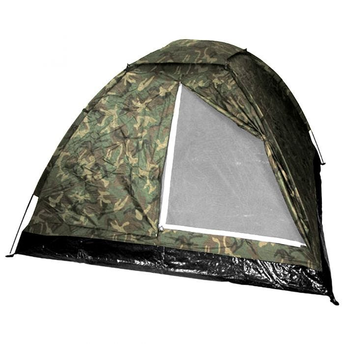 MFH 3 Person Tent Monodom with Mosquito Net Woodland