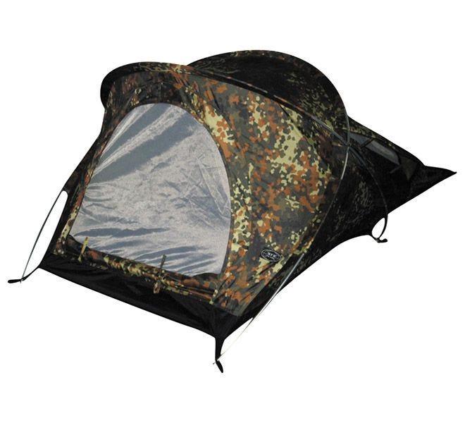 "MFH Tent ""Osser"" with Aluminium Frame Flecktarn"