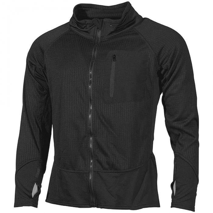 MFH US Tactical Soft Shell Jacket Black